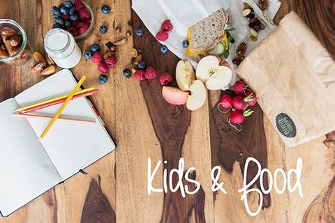 Tipps, wie Ihr Eure Kinder für eineausgewogene, leckere und vor allem gesunde Ernährung begeistert. Mit unseren Pausenbrot-Menues für die Schule!