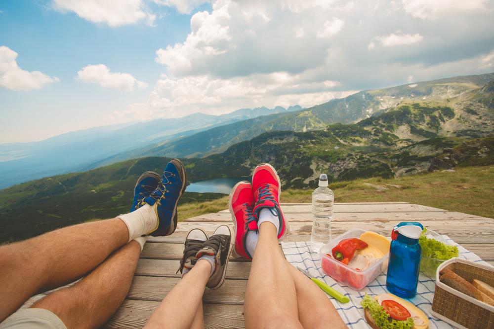 Warum das Wandern und das Pausenbrot zusammengehören