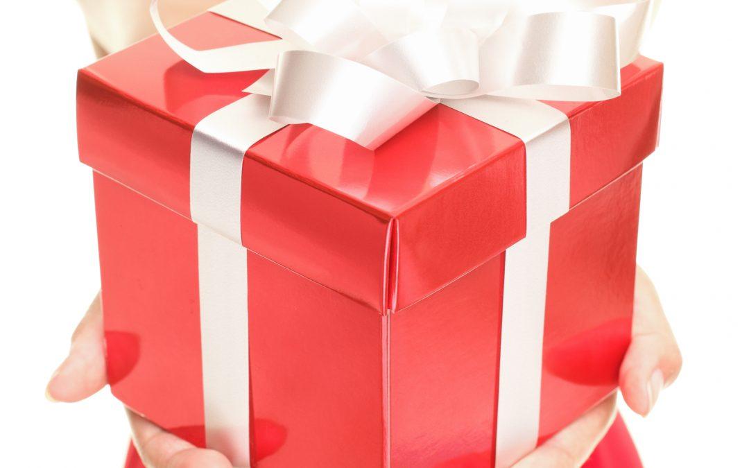 Das Leben ist ein Geschenk.
