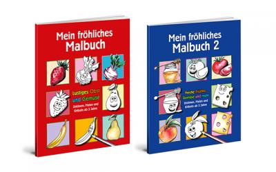 Malbuch Obst und Gemüse